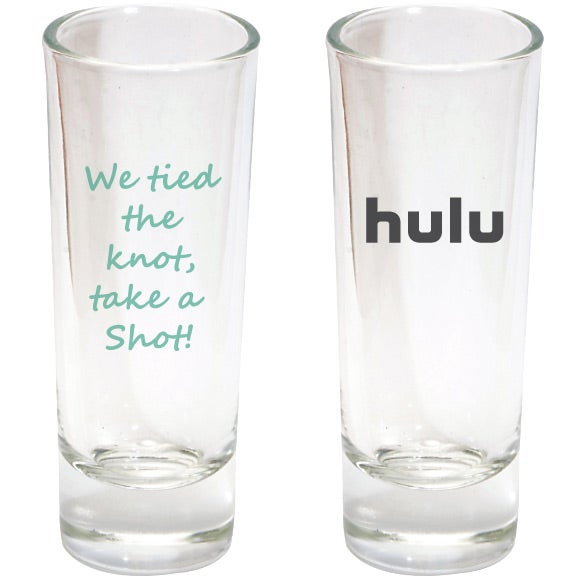 Clear Double Shot Glass