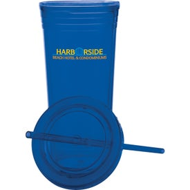 Double Wall Acrylic Tumbler (22 Oz.)