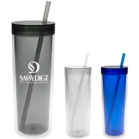 Printed Double Wall Aria Tumbler