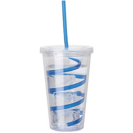 Double Wall AS Tumbler Branded with Your Logo