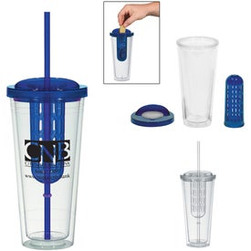 Imprinted Double Wall Infusion Tumbler