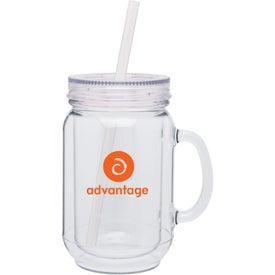 Double Wall Mason Mug with Your Logo