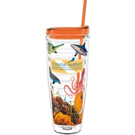 Double Wall Ringed Tumbler (26 Oz.)