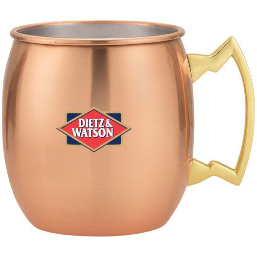 Gold Dutch Mule Mug