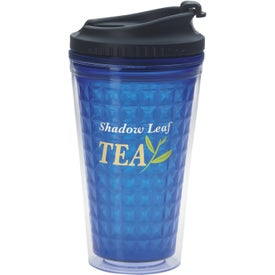 Personalized Double Wall Acrylic Tumbler with Black Lid