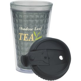 Printed Double Wall Acrylic Tumbler with Black Lid