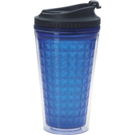 Double Wall Acrylic Tumbler with Black Lid for Advertising