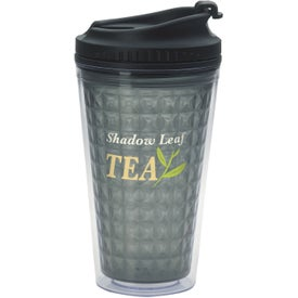 Double Wall Acrylic Tumbler with Black Lid for Promotion