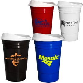 Econo Everlasting Party Cup with Lid (16 Oz.)