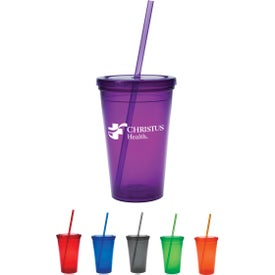 Economy Double-Wall Tumbler (16 Oz.)