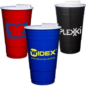 Printed Everlasting Party Cup with Lid