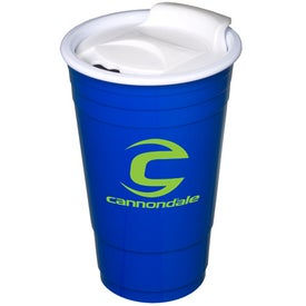 Imprinted Everlasting Party Cup with Lid