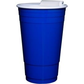 Everlasting Party Cup with Lid Printed with Your Logo