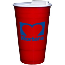 Everlasting Party Cup with Lid Branded with Your Logo