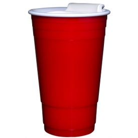 Branded Everlasting Party Cup with Lid