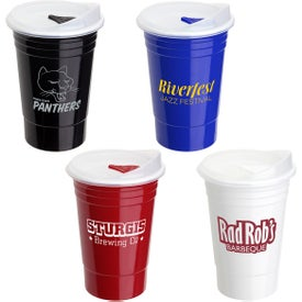Fiesta Double Wall Insulated Cup (16 Oz.)