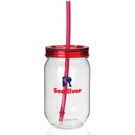 Fiesta Mason Jar Tumbler for Your Organization