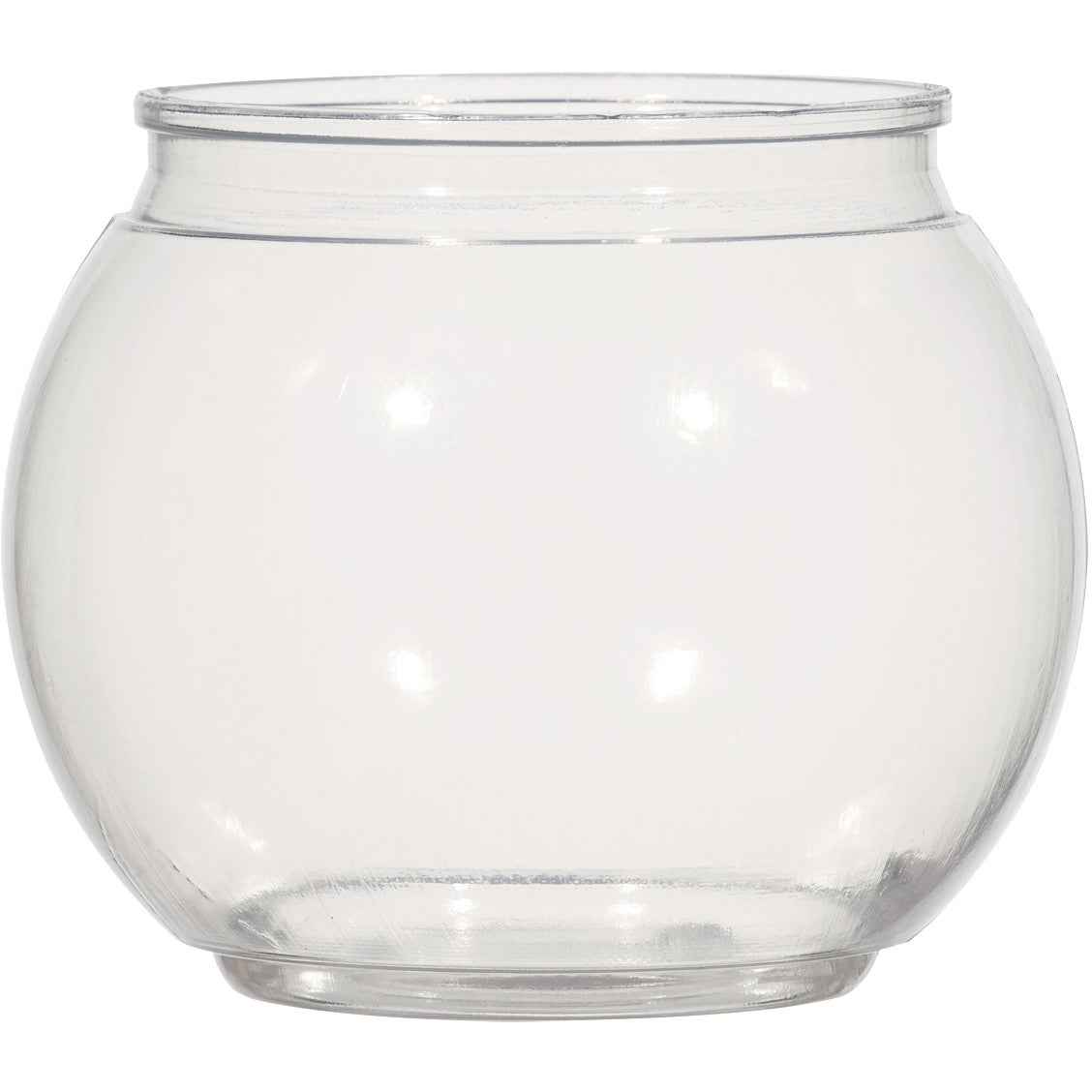 Fish Bowl Cup With Straw (46 Oz.)