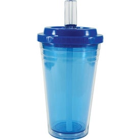 Flip Top Freedom Tumbler Imprinted with Your Logo