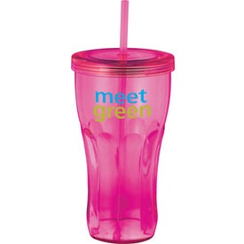 Fountain Soda Tumbler with Your Slogan