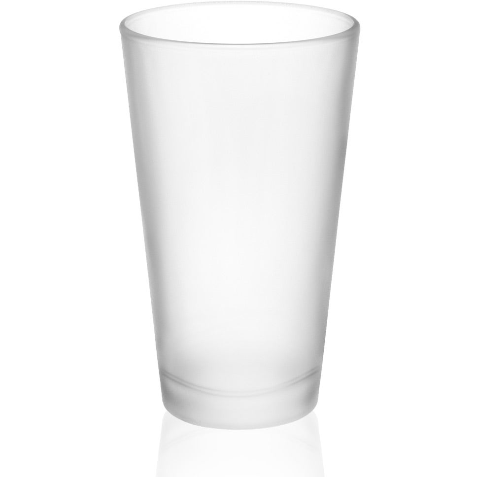 Frosted Pint Glass (16 Oz.)