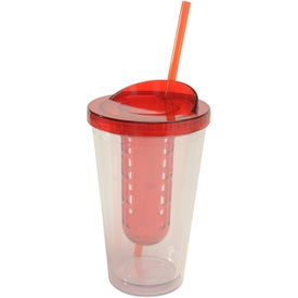 Logo Fruit Infuser Tumbler