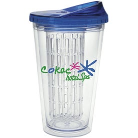 Imprinted Fruit Infusion Tumbler