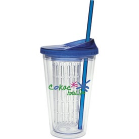 Logo Fruit Infusion Tumbler
