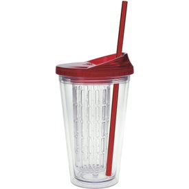 Printed Fruit Infusion Tumbler