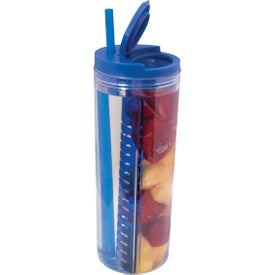Promotional Fruit Infusion Straw Tumbler