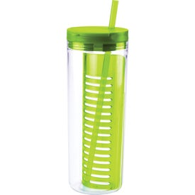 Company Fruit Infusion Straw Tumbler