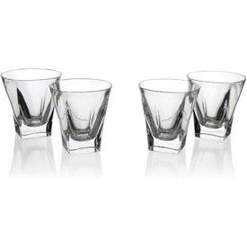 Advertising Fusion On-the-Rocks - Set of 4