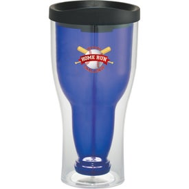 Game Day Bottoms Up Tumbler Branded with Your Logo