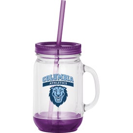 Game Day Double-Wall Mason Jar for your School