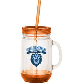 Game Day Double-Wall Mason Jar Imprinted with Your Logo