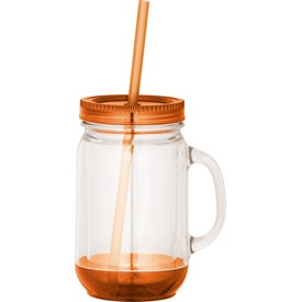 Game Day Double-Wall Mason Jar for Your Company