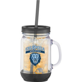 Game Day Double-Wall Mason Jar for Your Organization