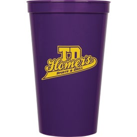 Game Day Stadium Cups for Your Company