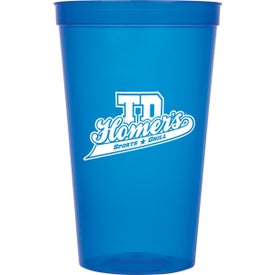 Monogrammed Game Day Stadium Cups