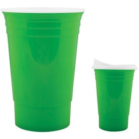 Monogrammed Game Day Tailgate Party Cup