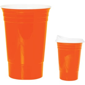 Game Day Tailgate Party Cup with Your Slogan