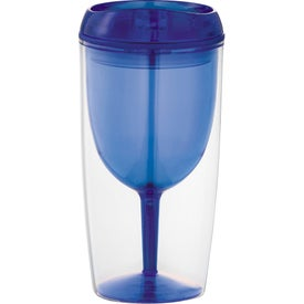 Game Day Wine Glass Cup for Advertising