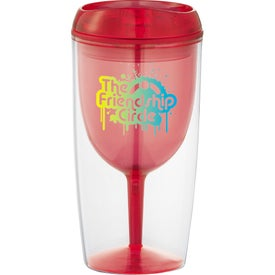 Company Game Day Wine Glass Cup
