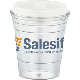 Game Day Party Cup with Lid for Advertising