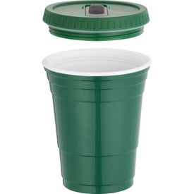 Game Day Party Cup with Lid for your School