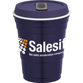 Game Day Party Cup with Lid Giveaways
