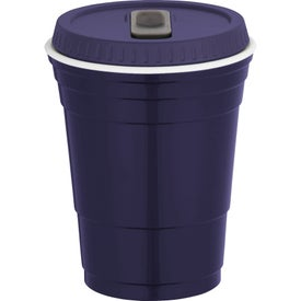 Logo Game Day Party Cup with Lid