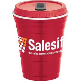 Game Day Party Cup with Lid for Your Church