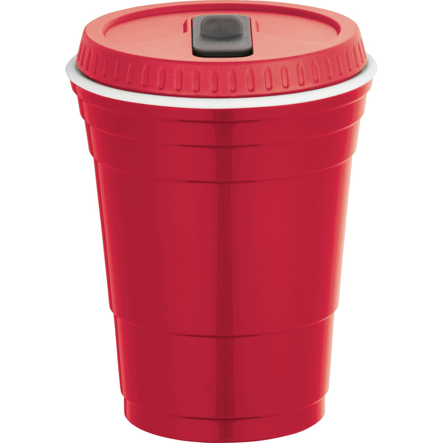 Cup With Lid : Game day party cup with lid oz logo drinkware and