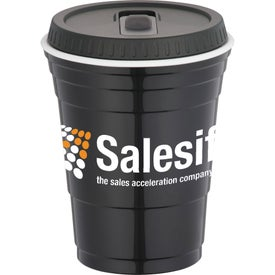 Custom Game Day Party Cup with Lid